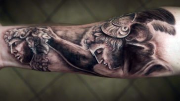 perseus-and-medusa-Mythological-Tattoo