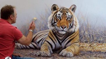 richard symonds wildlife drawing