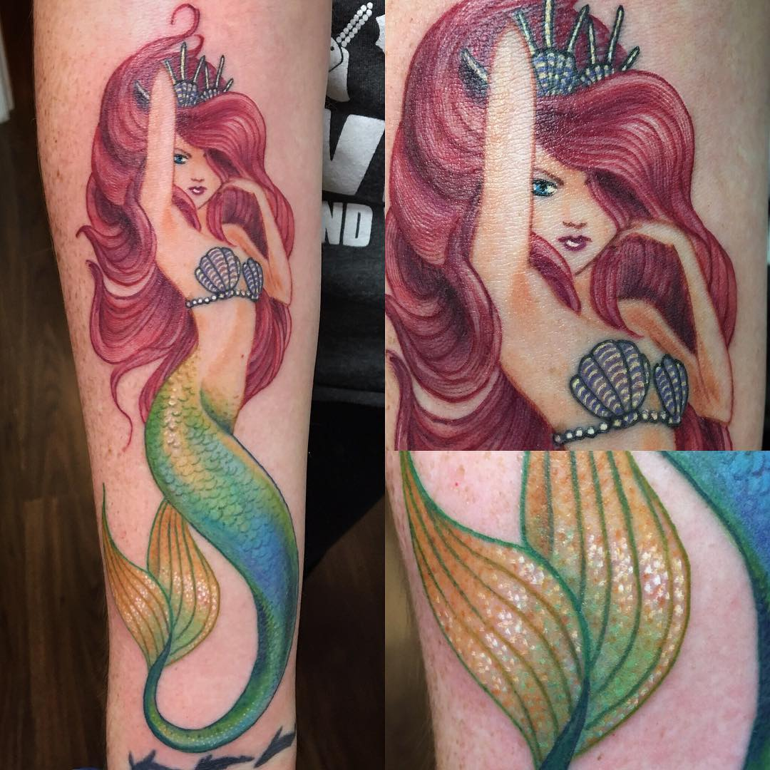sexy-arial-lovely-mermaid-tattoos