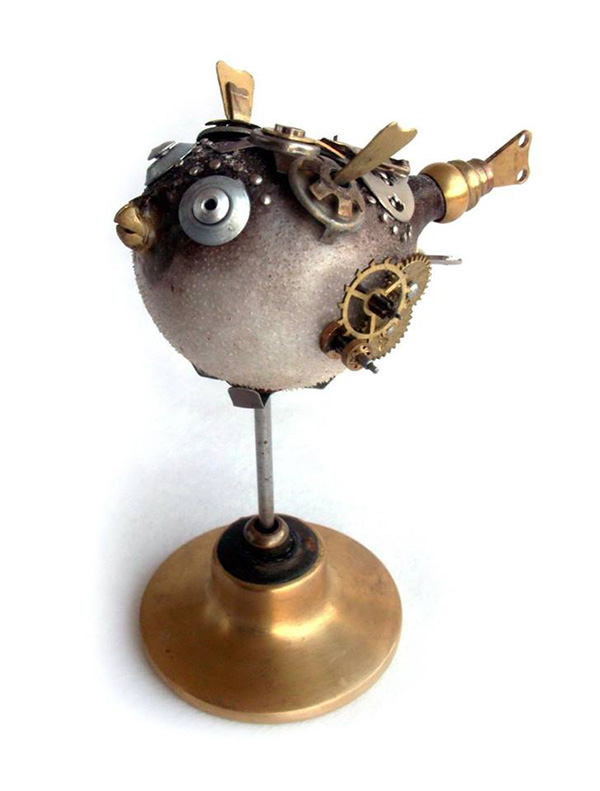 steampunk style animals igor verniy
